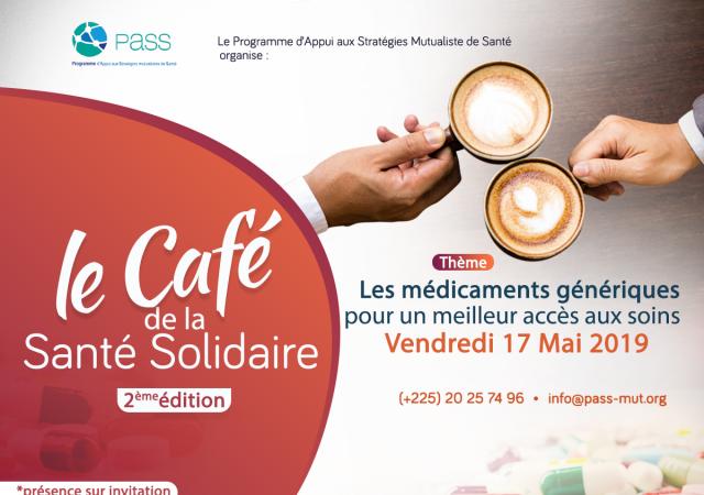 Le Pass organise la deuxième édition du ''Café de la Santé Solidaire'' - 17 Mai 2019