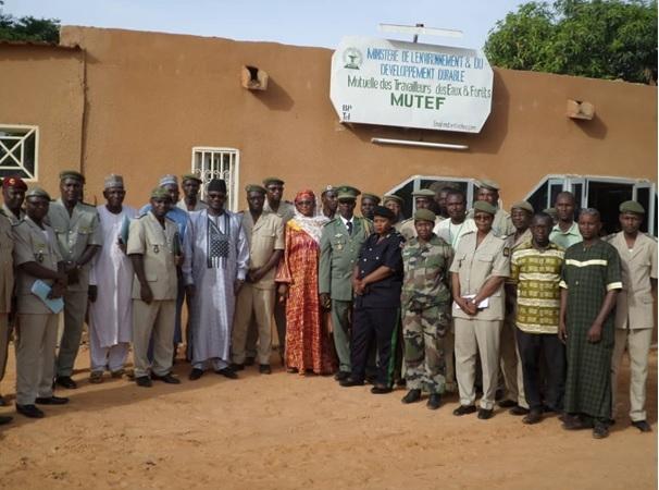 Cérémonie d'inauguration de l'infirmerie de la Mutuelle des Travailleurs des Eaux et Forêts du Niger (MUTEF) - 26 juin 2019 à Niamey (Niger)