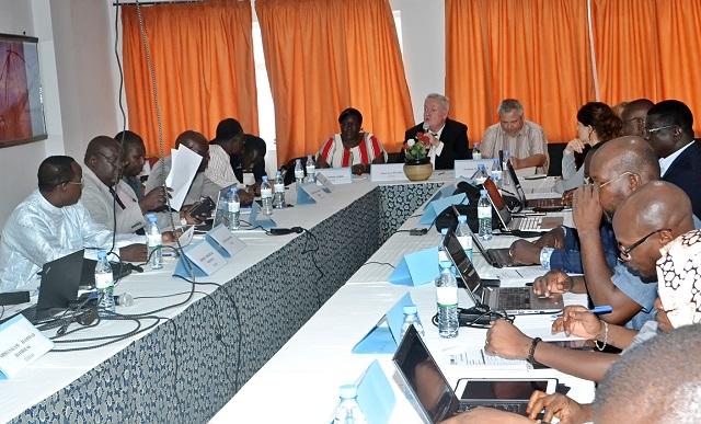 Troisième regroupement des auditeurs au master II en gouvernance mutualiste de la ruche de la protection sociale - 15 Juillet 2019 à Lomé (Togo)