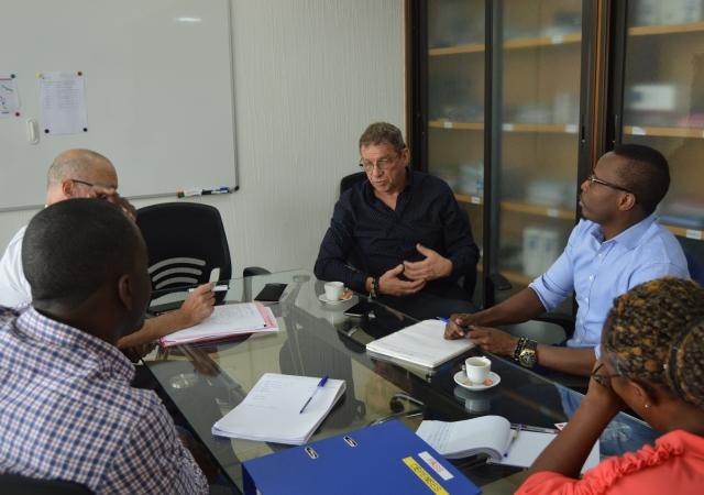 Solidarité Laïque dans les locaux du Pass - 17 Février 2020 à Abidjan (Côte d'Ivoire)