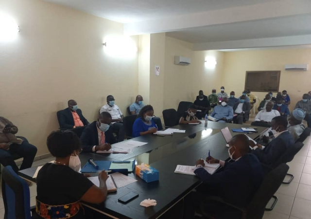 L'Agence Ivoirienne de Régulation de la Mutualité Sociale mobilise les mutuelles sur la lutte contre la covid-19 - 15 mai 2020 Abidjan (Côte d'Ivoire)