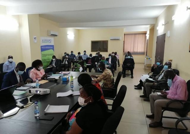 La plateforme mutualiste ivoirienne contre la Covid-19 organise ses actions de lutte - 29 Juillet 2020 à Abidjan (Côte d'Ivoire)