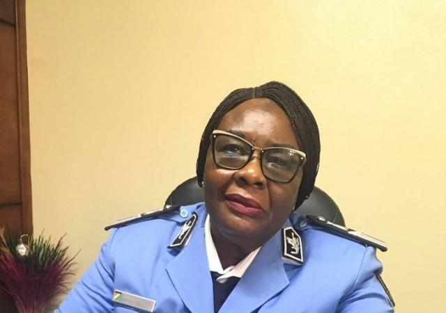 Le commissaire divisionnaire, Aminata Coulibaly-Koffi nouvelle directrice du Fonds de prévoyance de la police nationale - 27 Août 2020 à Abidjan (Côte d'Ivoire)