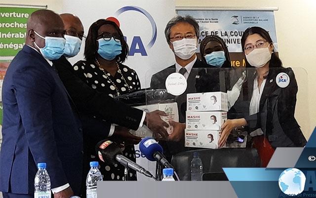 Covid-19 : Dakar reçoit de Tokyo des équipements d'une valeur de 60 millions de Francs Cfa